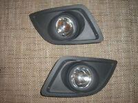 FORD FIESTA 2006-2008 MK6  fog lights lamp grille set