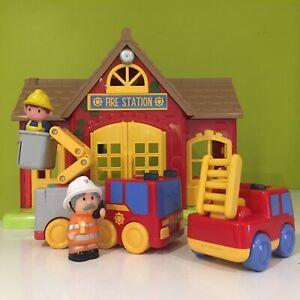 Happyland Fire Station  Set Bundle