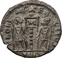 CONSTANS Constantine I son 337AD Ancient Roman Coin Soldiers Legions i29818
