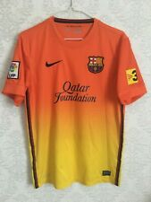 Nike FC Barcelona Away 2012-2013 Qatar Foundation Jersey Shirt Size S