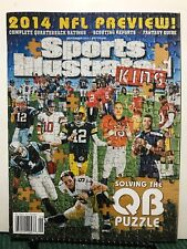 Sports Illustrated Kids Solving QB Puzzle NFL Preview Sept 2014 FREE SHIPPING JB