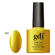 UK GDi Nails UV LED Soak Off Gel Nail Polish Classic (F) Range Gel Nail VARNISH