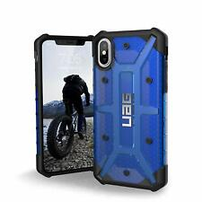 Urban Armor Gear (UAG) iPhone XS & X Plasma Tough Case Cover Clear Cobalt/Blue