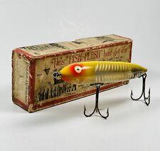 Beautiful HEDDON DOWAGIAC ZARA SPOOK Vintage Fishing Lure In Original Box
