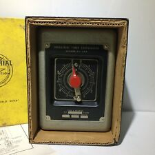 VINTAGE INDUSTRIAL TIMER CO PAB6S Used, Cleaned W/Orginal Box and Instruction Ma