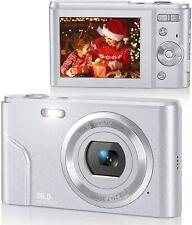 Rosdeca Digital Camera HD 1080P Vlogging Camera, 36 Mega Pixels Compact Camera w