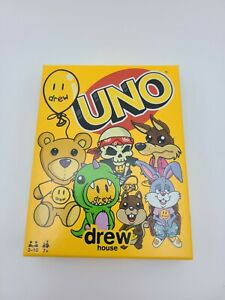 UNO DREW HOUSE Card Game MATTEL CREATIONS  SPECIAL EDITION 2021 SEALED IN HAND