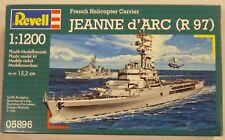 Revell 1/1200 French Helicopter Carrier Jeanne d' Arc R 97 Model Kit 5896