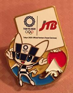TOKYO 2020 — JTB SPONSOR PIN .