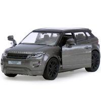 Land Rover Range Rover Evoque Diecast Metal Model Grey Car Toy Die-cast Cars