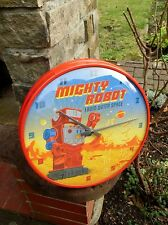 RETRO MIGHTY ROBOT - SCI-FI WALL CLOCK - NEW IN BOX - Made in Germany