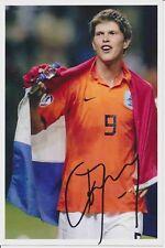Klaas Jan Huntelaar  Holland  Fußball original signiert 378176
