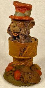 PISTACHIO-R 1992~Tim Wolfe/Tm Clark Gnome~Item #9041~Ed #35~Signed~w/COA & Story