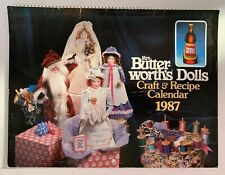Vintage calendar Mrs. Butter-Worth's Craft & Recipe Calendar 1987