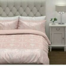 Laura Ashley Josette Jacquard Blush King Duvet Cover ONLY