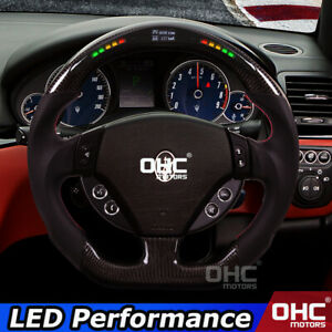 LED Steering Wheel for Maserati Ghibli Levante Quattroporte Gran Turismo Cabrio