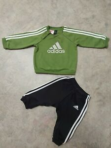 Adidas Baby Boy Tracksuits  Size  6-9  Months
