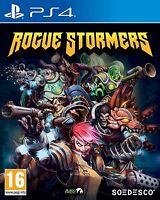 Rogue Stormers [PlayStation 4 PS4, Region Free, Run N Gun Platform Action] NEW