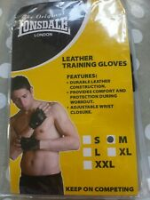 Lonsdale Leather Training Gloves Medium