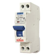 10AMP - RCBO Single Module 6kA - Single Safety Switch for Switchboard