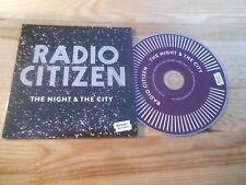CD Indie Radio Citizen - The Night & The City (13 Song) Promo SONAR KOLLEKTIV cb