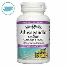 Natural Factors - Stress-Relax, Ashwagandha, Helps Relieve Everyday Stress, Tens