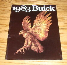 Original 1983 Buick Full Line Deluxe Sales Brochure 83 Riviera Electra LeSabre