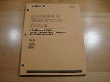 Caterpillar 3304B 3306B Industrial Engine generator Operation Maintenance manual