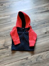 Under Armour Full Zip Hoodie Baby Toddler Size 6-9 months Red And Black