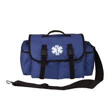 EMT EMS Paramedic Medic Medical Rescue Tactical Response BLUE Trauma Bag Pack
