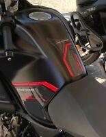 Kit adesivi 3D PROTEZIONE SERBATOIO MOTO compatibili YAMAHA SUPER TENERE rosso