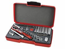 Teng Tools SALE!  1/4 Drive Deep Socket Ratchet Extension UJ Tool Set With Case