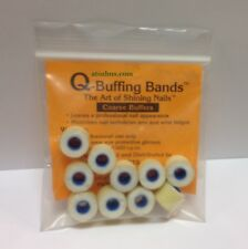 Q-Buffing Nails Buffing Bands COARSE BUFFERS The Art Of Shining Nails (10/Pack)