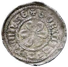 s1381) GORIZIA Mainardo IV (1258-1271) Denaro Leone / Rosa Biaggi 974 RRRR