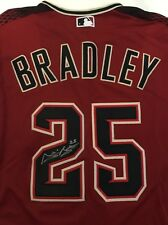 Archie Bradley Signed Autograph Arizona Diamondbacks Jersey Red D-Backs Beard AZ