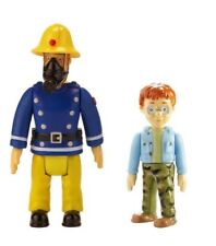FIREMAN SAM AND NORMAN POSEABLE ACTION FIGURES LITTLE CHARACTERS BNIP