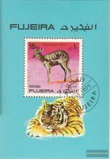 Fujeira Block81A (kompl.Ausg.) gestempelt 1971 Wildtiere