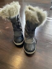 Girls sorel Tall Snow Boots Size 2