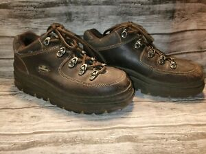VTG Skechers Jammers Brown Platform Chunky Shoes Size 9.5 Ankle Boots| s50