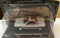 "DIE CAST ""LANCIA MONTECARLO SPIDER II SERIE 1980 "" TECA RIGIDA BOX 2 SCALA 1/43"