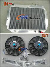 HOLDEN Kingswood HG HT HK HQ HJ HX HZ V8 Chev engine Aluminum Radiator + 2 FANS
