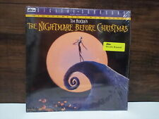 TIM BURTONS NIGHTMARE BEFORE CHRISTMAS 1993 LASER DISC