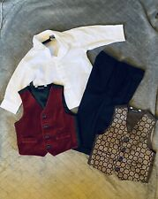 Baby Boy Outfit Suit Size 18 Months 4 Pieces Used