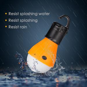 LED Glühbirne Lampe Outdoor Camping Beleuchtung Hängelampe Zeltlampe SOS DE