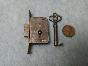 Cabinet Door Lock Full Mortise LH w/screws