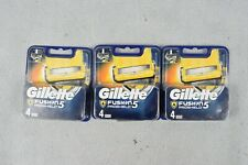 3x Gillette Fusion 5 Proshield Replacement Heads 16 Blades In Total Shaving NEW