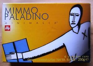ILLY ART COLLECTION Minimalia by Mimmo Paladino (2000) - 6 Espresso Cups