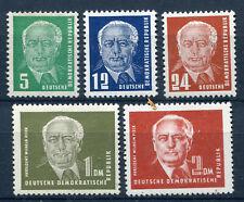 DDR Nr. 322/326 postfrisch