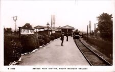 Raynes Park near Kingston on Thames. Railway Station # S 2889 by WHS Kingsway.