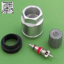 Chevy TIRE PRESSURE SENSOR TPMS REBUILD SERVICE KIT nut valve core cap GM-1060A